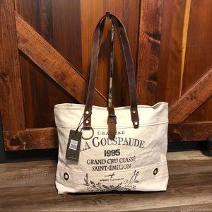 Myra Bag Pure Bliss Canvas tote purse